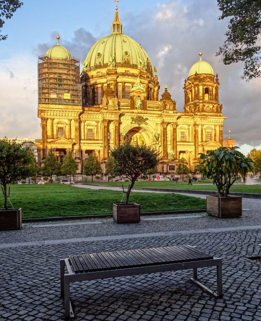 Lieblingsplatz Berlin Dom Abendlicht