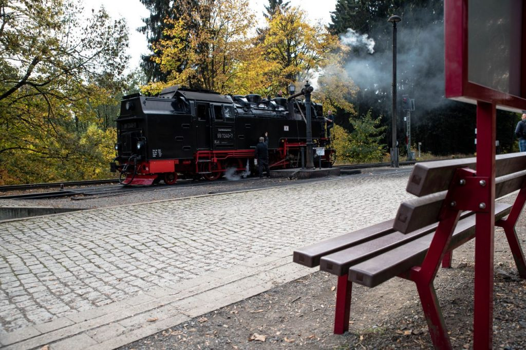 Lieblingsplatz Brockenbahn  Drei Annen Hohne