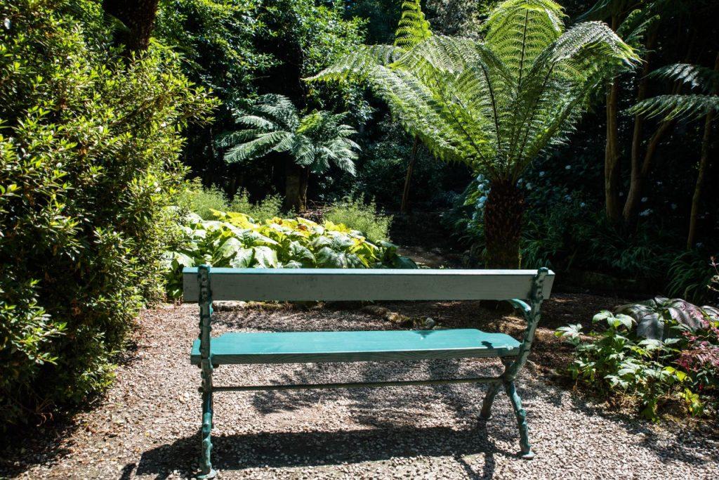 Lieblingsplatz Silent Place Trengwainton Garden Cornwall Ruhiger Ort