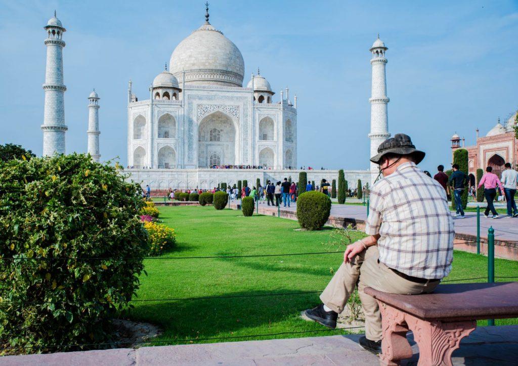 Lieblingsplatz Taj Mahal Agra India